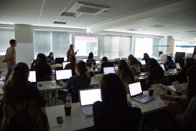 """Q&A session with """"Code it Like a Girl"""" organizers"""