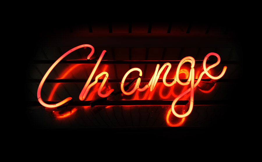 The one thing you need to adjust to change