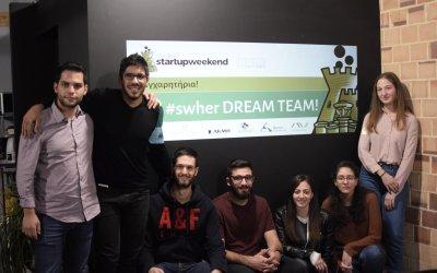 The dream team that conquered Startup Weekend Heraklion