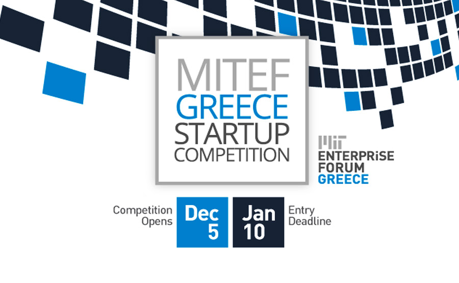 Enter the 2018 MITEF Greece Startup Competition