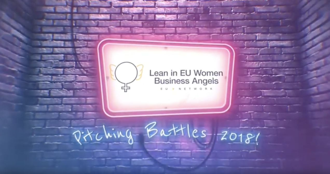 Invitation to join the 2nd LeanIn EU WBAs Pitching Battles