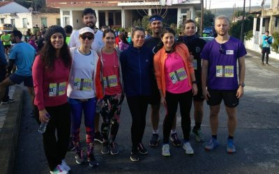 Starttech Runners take on Evrotas Half Marathon