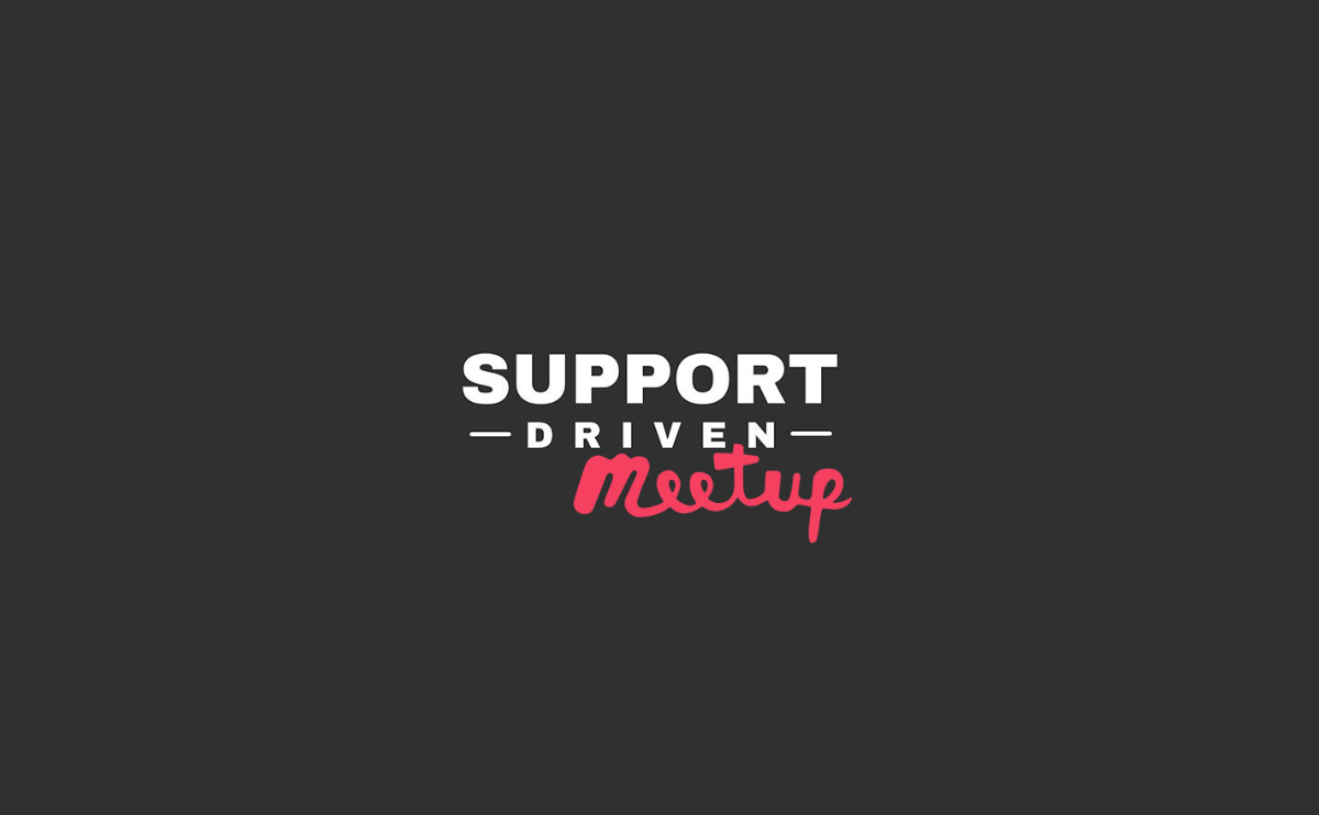 Invitation to Athens Support Driven Meetup