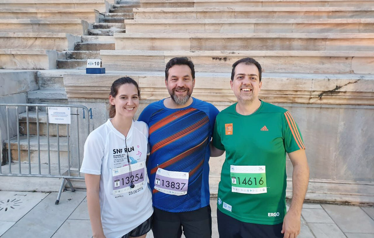 Starttech runners stride into the future at the 5th SNF Run