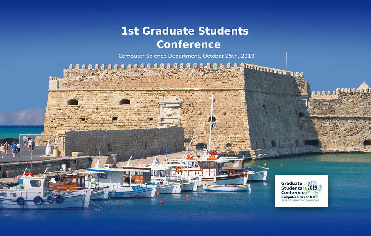 Starttech @ the 1st CSD Graduate Students Conference, University of Crete