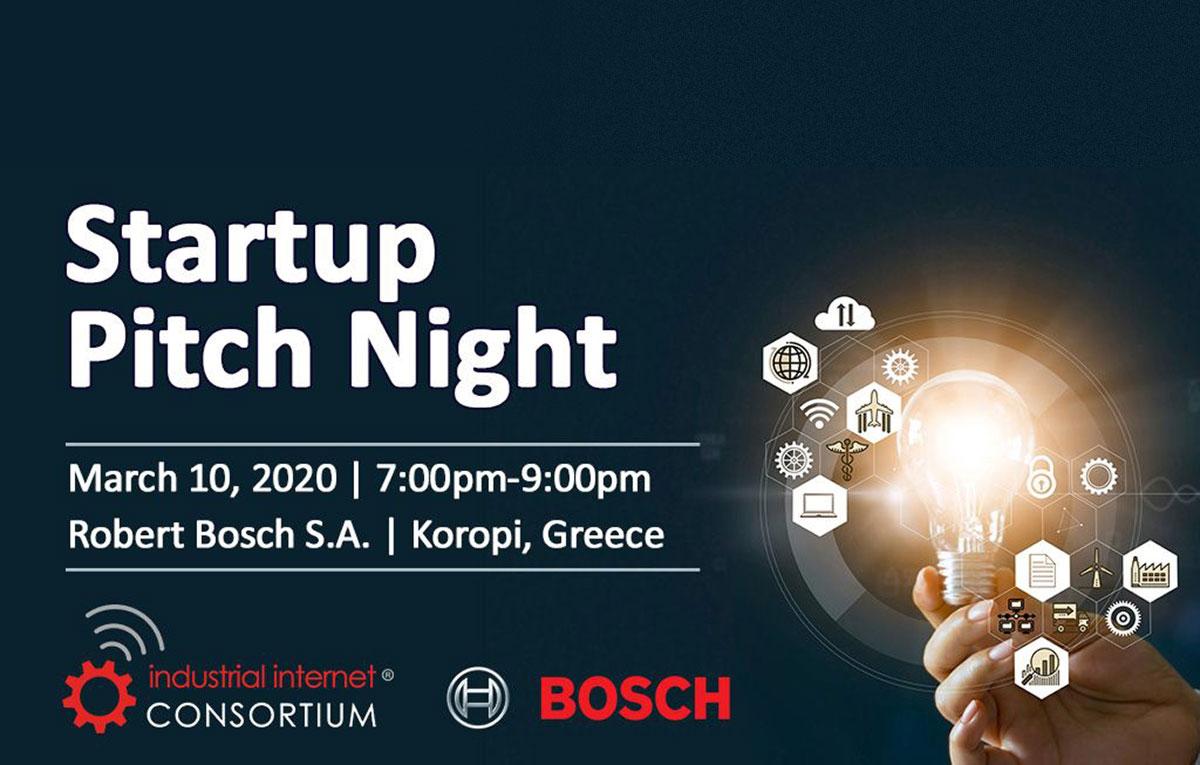 Startup Pitch Night by IIC @BoschHellas