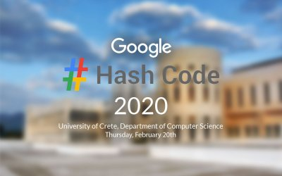 Get ready for the local round of Hash Code 2020 at CSD